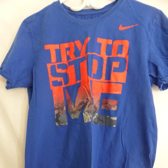 THE NIKE TEE, ATHLETIC CUT, medium, Try To Stop Me